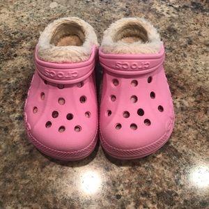 CROCS Shoes - Girls Fleece Line Crocs